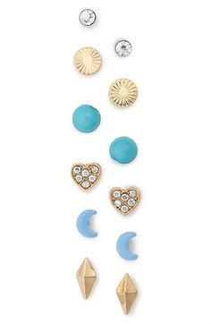 BP. Stud Earrings (Set of 6) available at #Nordstrom