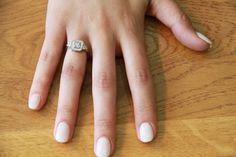 Art Deco Engagement Ring Vintage Inspired Diamond Ring