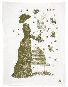 Beekeeper Tea Towel - Mycroft $30.00