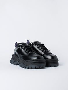 online retailer cdbf9 2d434 APLACE Angel Leather Black - Eytys Modeskor, Superga, Štýl