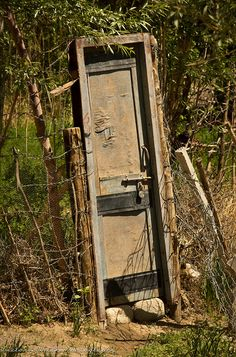 Who Needs A House, When You've Got a Door !? ;) by viwehei, via Flickr