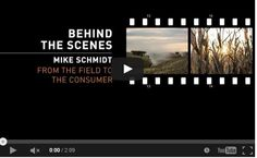 Why I Farm- Behind the Scenes- From the Field to the Consumer- Mike Schmidt