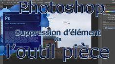 Découvrez le fonctionnement de l'outil pièce de Photoshop et comment il peut vous permettre de supprimer de façon semi automatique et assistée des éléments de votre image.