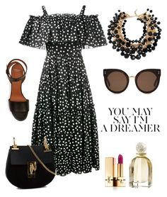 """Exterior."" by gatocat ❤ liked on Polyvore featuring Nobis, Dolce&Gabbana, Yves Saint Laurent, STELLA McCARTNEY, Givenchy, Chloé and Balenciaga"