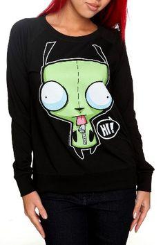 Invader Zim Hi Bye Pullover Crew-Neck Sweatshirt Size : Large Hot Topic,http://www.amazon.com/dp/B006L0ZS8C/ref=cm_sw_r_pi_dp_8v-usb1BNJZTVSB5