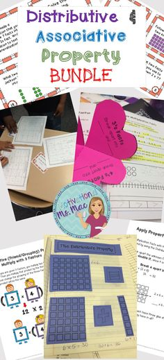 Bundle filled with notes, task cards, interactive foldables, and vocabulary terms for bulletin board. Motivational Ms. Mac