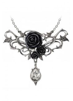 Alchemy Gothic Bacchanal Rose Necklace, £36.99