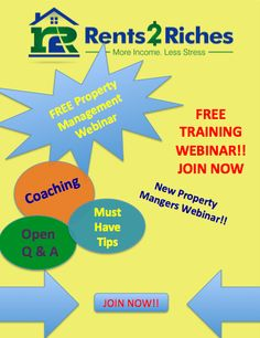 1000+ images about FREE Property Management Training!! on ...