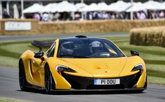 The McLaren P1 is one of the star attractions of the supercar run at the 2014 Goodwood Festival of Speed