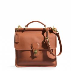 Still one of my all-time favorites.  I have this style in many different colors - makes changing handbags to simple!     Coach :: WILLIS BAG IN LEATHER