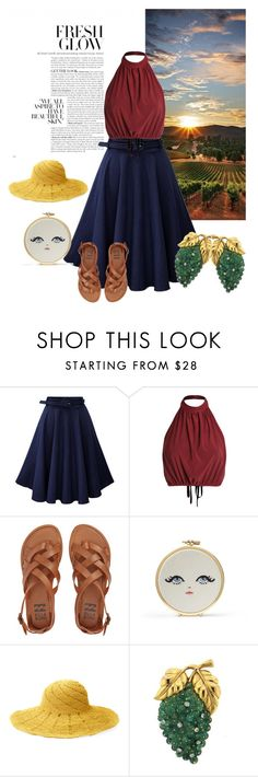 """Fresh Glow"" by marquita-jaja-davis ❤ liked on Polyvore featuring Billabong and Mar y Sol"