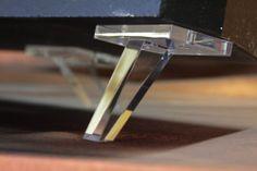 Dahlquist DQ 10 Reproduction Cast Acrylic Spikes by AcrylicAudio