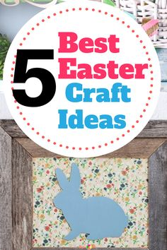 5 Best Easter Craft Ideas Easter Decor, Easter Crafts, Make And Sell, How To Make, Craft Fairs, Wooden Signs, Decor Crafts, Vinyl Decals, Holiday