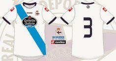 Camisetas Oficiais do Celta de Vigo e Deportivo de A Coruña 2014-2015...