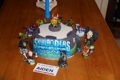 A Skylanders cake from our Facebook fan Ahoot! Thanks for the submission! Use the hashtag #SkylandersCake and maybe we'll repin yours!