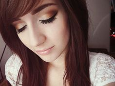 Sweet fall #makeup #look