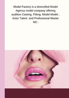 Model Factory Model Agency is a distinct model management agency based in Hong Kong. Model Agency, Industrial Style, Gain, Hong Kong, It Cast, Success, Actors, Models, Fashion