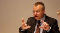 Interview with Stephen Elop on Techcrunch.