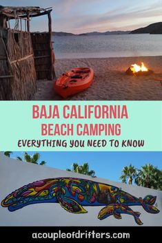 A complete guide to the best beaches for camping Baja California has to offer. Not only do we tell you exactly what to expect at each beach but we've also covered everything you need to make your beach camping experience more comfortable and manageable. #bajacalifornia #bajamexico #bajabeaches #mexico #baja
