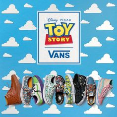 """Vans Is Releasing A """"Toy Story"""" Collection And I'm So Excited I Might Puke"""