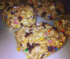 no-bake pb2 banana oat bars! perfect for #gameday snacks healthy! @Heather Creswell Creswell Creswell Knees Henson