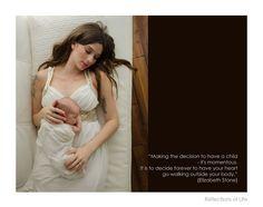 Niagara Newborn Photographer Beautiful Newborn Quote, Mom & Baby
