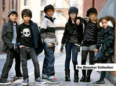 Cute. The Bleeker Collection - Urban Looks for Gap Kids / Baby | FASHION / TRENDS | Zandland Blog - Powered by Zandl Group