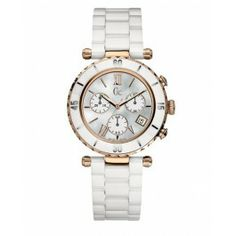 GUESS+Gc+DIVER+CHIC+White+Ceramic+Chronograph+-+http 2300b553d597