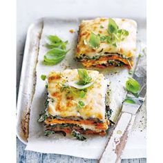Sweet Potato Eggplant And Cauliflower Bechamel Lasagne | Donna Hay