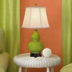 Twin Serenity Table Lamp - 6 colors