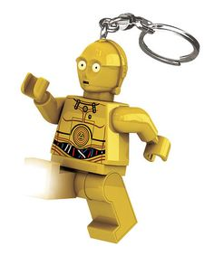Another great find on #zulily! LEGO Star Wars C3PO Key Chain Light by LEGO #zulilyfinds