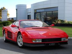 A rare chance to buy a Ferrari Testarossa... if you've got a spare £200k