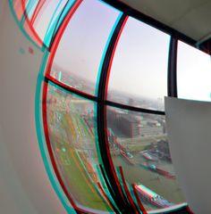 https://flic.kr/p/rmQgxV | Euromast Rotterdam 3D | anaglyph stereo red/cyan