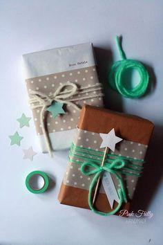 Ideas para envolver los regalos de Navidad con papel kraft   Decoración