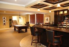 Basement Bar Ideas Corner Wet Bar Designs