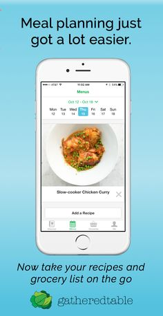 Discover the new Gatheredtable app for iPhone and iPad! Download now for a free trial of our meal planning tools.