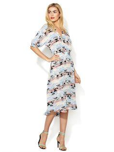 Midi Silk Market Dress by Tucker at Gilt