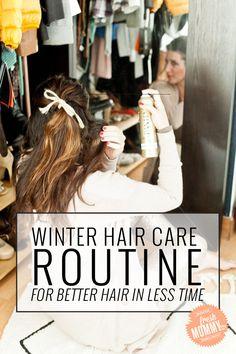 Winter Hair Care Rou