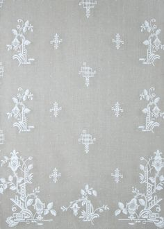 Deco Nottingham Lace Curtain direct from London Lace: London Lace we specializing in the finest Scottish and Madras lace curtains and products like Deco Nottingham Lace Curtain.
