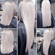 luxushair We are so proud of present Virgin Hair Series 😁💗 Her har Ann-Helen brukt Taphair + Virgin #Mist 65 cm, 2 pakker. Kun #Mist er på lager nå, men 11 farger kommer i juli <3 www.luxushair.com Les mer om produktet hos @ahundheim Keratin, Hair Extensions, Hair, Weave Hair Extensions, Extensions Hair, Extensions