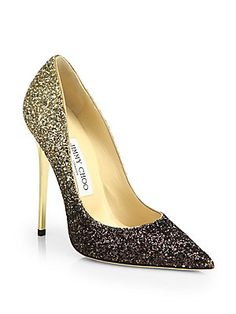 "And the Oscar for best ombre glitter heel goes to... Jimmy Choo ""Anouk"" Pumps $675"
