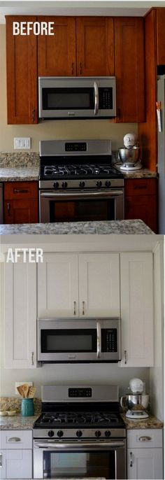 Cabinet Ideas - CLICK PIN for Lots of Kitchen Cabinet Ideas. 95789767 #cabinets #kitchenstorage