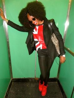 Hello Fashionistas / Fashionistos Hope all is well! Today I'm bring y'all back to the 70's fashion era, when Afros, bell -bottoms, mini skirts, and platform shoes with soles two...