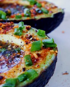 Add lime and chipotle seasoning to avocados to make this delicious snack.