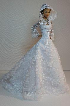 barbie wedding dress15