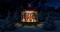 The Dallas Arboretum, 12 Days of Christmas Exhibit, Holiday Exhibit, Christmas, Dallas Holiday Events, 12 Days of Christmas Carol