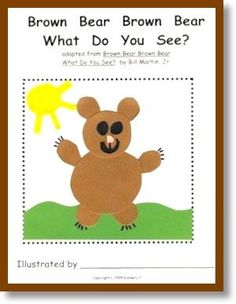 Using Eric Carle's classic book, the childen learn to identify nine basic colors while seeing themselves as readers! The children collage an animal on each page of their own books while writing the color word. A must in every kindergarten classroom!  ($)