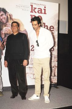 Arjun Rampal at KAI PO CHE Movie Trailer Launch.