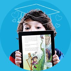 Epic! - Books for Kids  -- Netflix for kid's eBooks. Free forever to Teachers and Librarians!