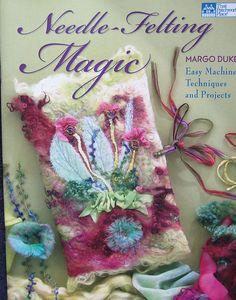 Nadel filzen magische Muster buchen Margo Duke von TheHowlingHag